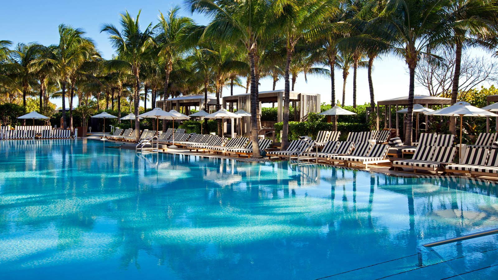 Pool at w south beach