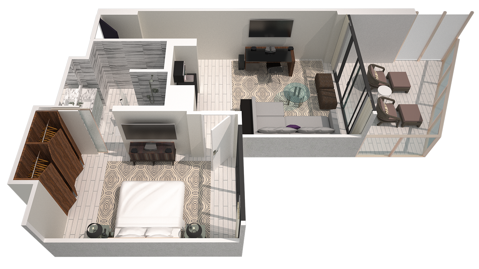 fantastic 2 room flat floor plan. Download floor plan Hotel Suites in Miami  W South Beach