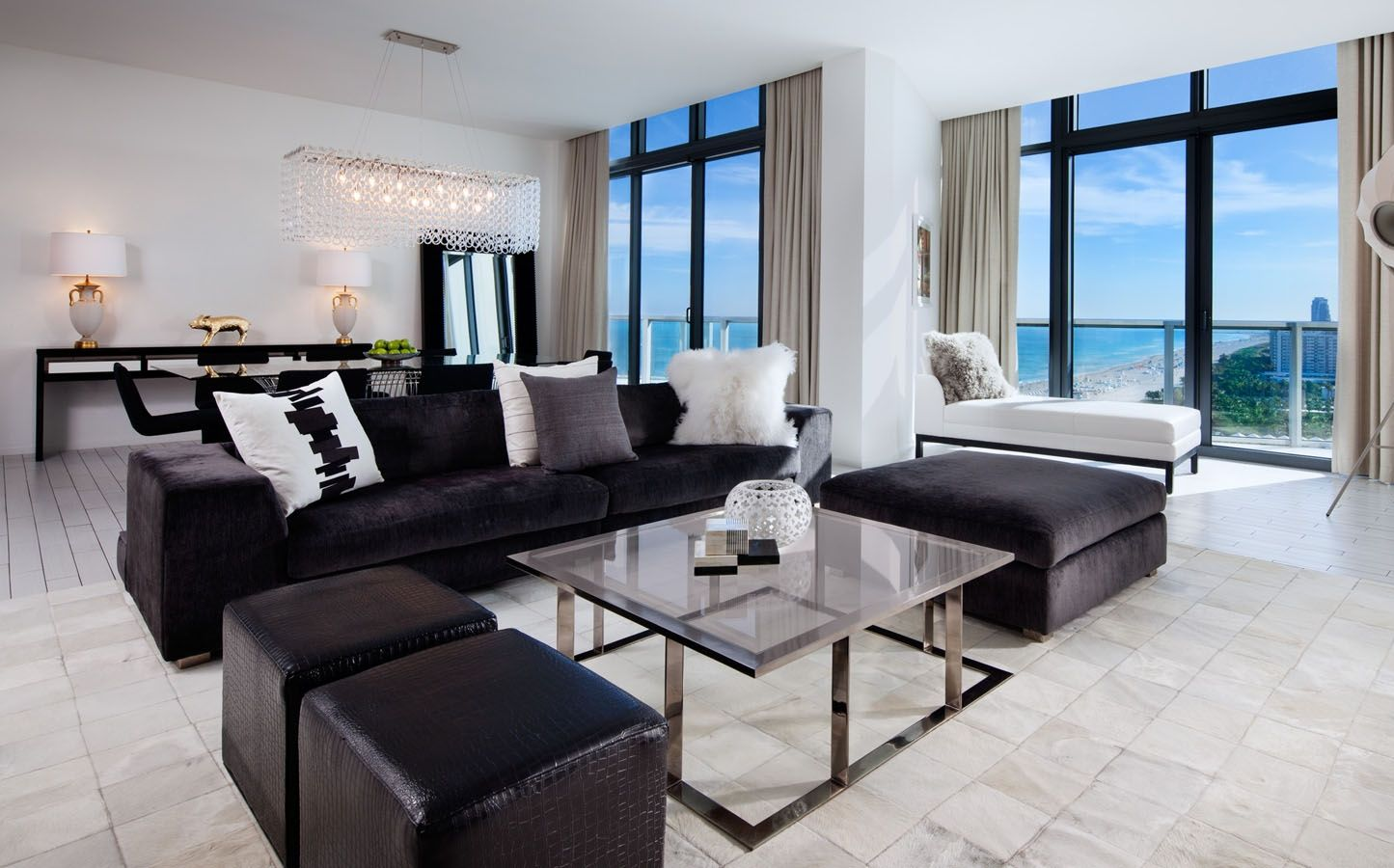 87 living room w hotel miami photos on the map w for Design hotel mr president karadjordjeva 75